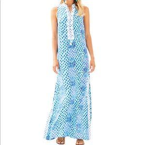 fb7a264426c Jane Maxi Dress Resort White Toe In Engineered